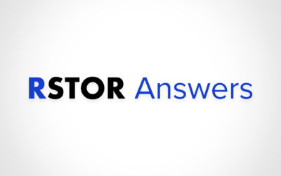 RSTOR Answers