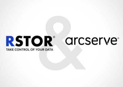 RSTOR & Arcserve: We've got your Back-up